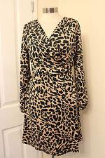 Thigh-Length V Neck Long Sleeve Tunic Dresses for Women