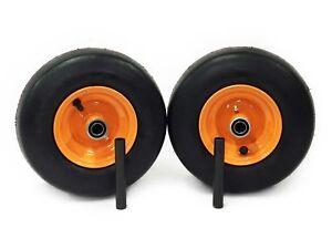 (2) Scag Pneumatic Wheel Assem 11x4.00-5 Fits Liberty Freedom Z Repl 485207
