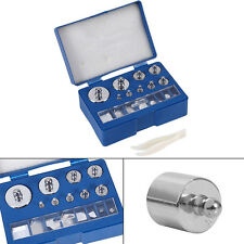 17pc Set Calibration Weights Precision Digital Pocket Scale Jewellery 10mg-100g.