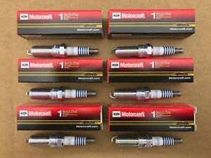 Set of 6: Motorcraft OEM Ford Platinum Spark Plugs SP-520 CYFS-12F-5 USA Seller