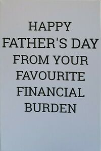 Father's Day Card, Funny, Humour