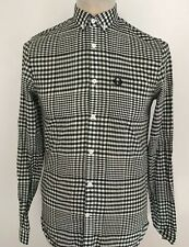 FRED PERRY Mens Check Shirt Size XS