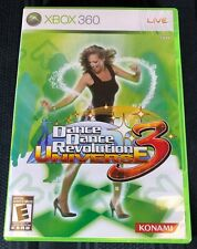 Dance Dance Revolution Universe 3 Xbox 360 with Case and Manual
