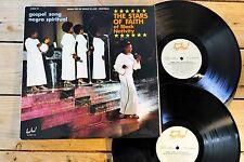 THE STARS OF FAITH OF BLACK NATIVITY GOSPEL 2 LP 33T VINYLE EX COVER EX