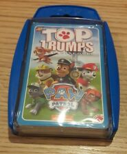 TOP TRUMPS PAW PATROL. GAMES/PUZZLES CARDS BRAND NEW. Chase Skye rubble Marshall