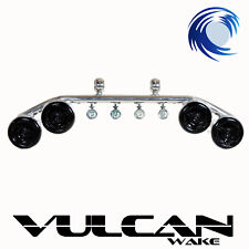Speaker Light Bar Combo for Wakeboard Tower *POLISHED ALUMINIUM* Vulcan Wake