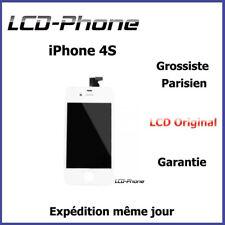 Ecran LCD + Vitre Tactile Sur Chassis - iPhone 4S Blanc - Original
