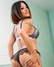 Kaylani Lei Adult Film Star Unsigned 8x10 Photo #36 AVN 2014 Hall of Fame