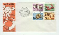 Papua New Guinea A54 FDC 1978 mask tribes