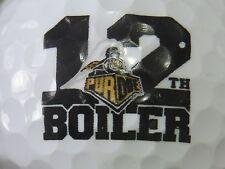 "(1) Purdue University Boilermakers Logo Golf Ball ""12"" Football"