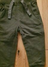 Baby boys Green joggers 18-24 months