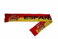 ESPANA SPAIN FIFA SOCCER WORLD CUP LOGO THICK SCARF.. NEW