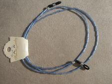 Eyeglass spectacle sunglass chain light blue glass bugle bead unisex ideal gift