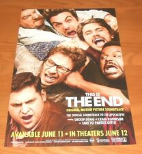 This is The End Soundtrack Promo 2013 Poster 11x17 Snoop Dogg Craig Robinson