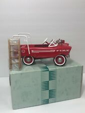 Hallmark Kiddie Pedal Car Classics 1962 Murray Red Super Deluxe Fire Truck Nib
