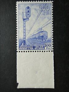 Belgium 1942 Stamps MNH Signal and Electric Train Railway Parcel Post WWII