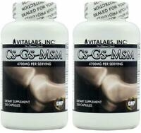 2 CS-GS-MSM  Pills Arthritis Joint Inflammation Bone Support Aid Cartilage Aches
