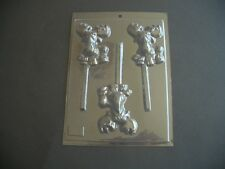 3 ON 1 MOOSE/REINDEER/CHRISTMAS LOLLY CHOCOLATE MOULD/MOULDS/XMAS/CHILDRENS