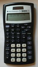 Texas Instruments Ti-30X Iis 2-Line Scientific Calculator Black with Blue