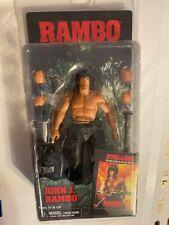 JOHN J. RAMBO 1985 FIRST BLOOD NECA  ACTION FIGURE