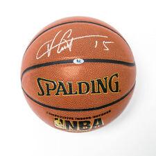 Vince Carter Autographed Spalding NBA I/O Basketball - Toronto Raptors