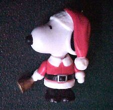 Miniature Peanuts Snoopy Bell Ringer Christmas Ornament