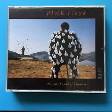 PINK FLOYD  - Delicate Sound of Thunder - RARE LIVE - 2CD (1988) Fatbox VG++