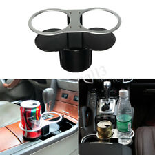 Car Double Cup Holder Dual Wedge Beverage Drink  Stand Seat Auto Truck Mount New