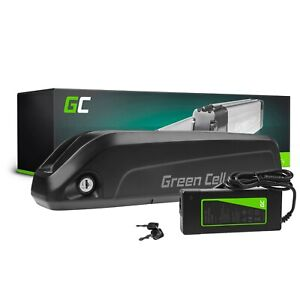 Batteria per Bici Elettrica 36V 13Ah E-Bike Li-Ion Down Tube + Caricabatteria