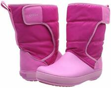 NWT Crocs Kids' Toddle Girl Sz. C8 LodgePoint Snow Winter Boots in Pink
