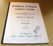 Klavier Noten * Classical Extracts for Classical Dancing