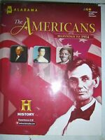 The Americans Beginnings to 1914, Alabama Student Ed 9780544127616 (10 book lot)