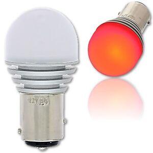#1157 Red LED 12V 360° Park Tail Light Brake Stop Turn Signal Lamp Bulb EACH 7.7