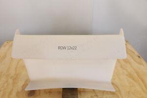 "Drywall window slide 12"" wide x 22"" long. Sheetrock window saddle sill protector"