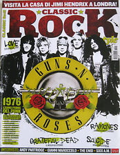CLASSIC ROCK 41 2016 Guns N'Roses Ramones Suicide Love BB King Sixx:AM Maroccolo