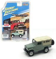 Johnny Lightning 1/64 1980 Toyota Land Cruiser Softtop Green JLCP7031