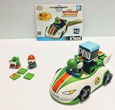 Nintendo Mariokart Wii K'nex Yoshi Motorized Wild Wing Kart Building Set Works