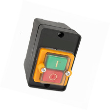 Waterproof ON/OFF Button Latching Type Control Switch 3P 10A 380V Push Button