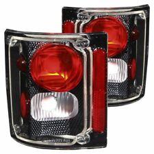 Anzo USA Carbon Fiber Euro Tail Light Set-Clear Lens, GM C/K Trucks/Suvs; 211015
