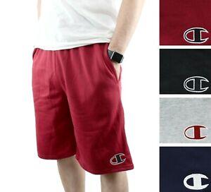 Champion Men's Graphic Powerblend Shorts Applique Logo Fleece Short GF38HY07972