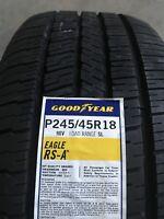 2454518 245/45R18 Goodyear Eagle RSA Blk 96V New Tire - Qty 1