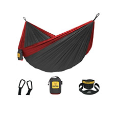 New listing Wise Owl Fitters Single Camping Hammock with Tree Straps