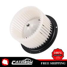 Heater A/C Blower Motor w/ Fan Cage for Ford Super F250 F350 F450 F550 Duty