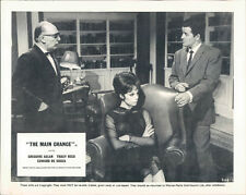 MAIN CHANCE TRACY REED IN LEATHER CHAIR LOBBY CARD