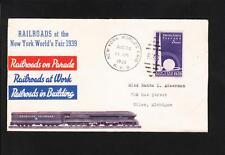 New York World's Fair World Railroads Fair RPO & Fair Stamp Fair Cinderella Z89
