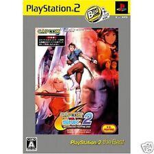 Capcom vs SNK MILLIONAIRE FIGHTING 2001 Best PS2 JAPAN