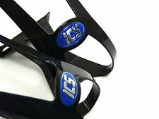 ICS Pedal toe clips black w double strap loops Vintage Campagnolo bicycle NOS