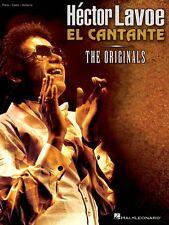 Hector Lavoe El Cantante Sheet Music Piano Vocal Guitar SongBook NEW 000306926