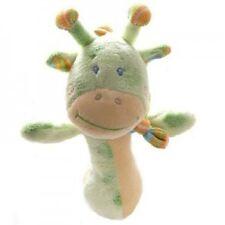 Green Giraffe New Baby Soft Plush Hand Rattle Toy/Gift