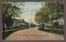 Ashland Ohio 1911 Postcard Sandusky Street Looking West